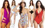 one piece swim suits