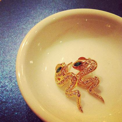 Melinda Maria Snake Earrings