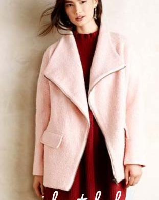 Pink Coats for Fall
