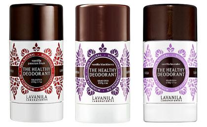 The Healthy Deodorant by La Vanilla