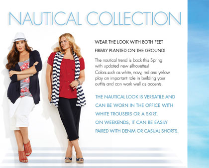 Plus sized fashion AdditionElle.com