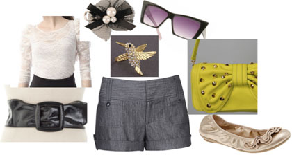 CC: Budget Stylista Tailored Shorts Two Ways