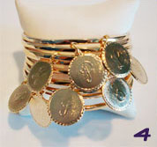 Lisa Stewart Initial Charm Bracelet