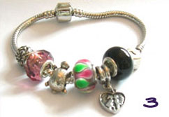 Cutey Pontus Charm Bracelet