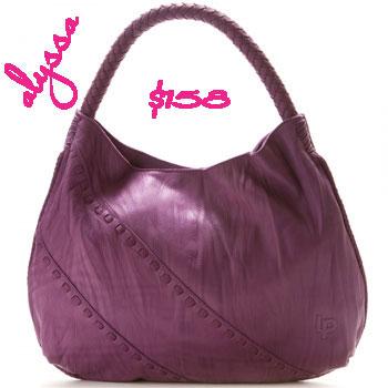 Deal of the Day: Linea Pelle Alyssa Shoulder Bag