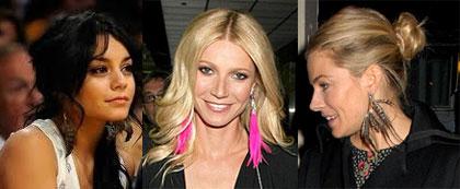 2011 Trend: Feather Earrings