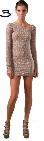 M Missoni Crocodile Intarsia Mini Dress