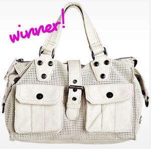 GIVEAWAY Winner! Linea Pelle Addison Speedy Bag