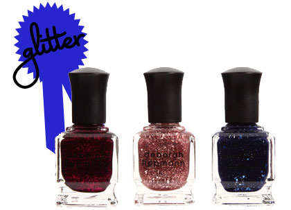 Deborah Lippmann All that Jazz Three-Piece Set Glitter Nail Color
