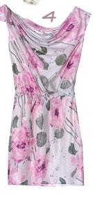 Cynthia Steffe Pastel Floral Sleeveless Dress