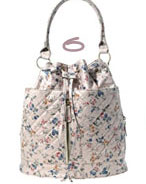 Pieces Flower Print Bag