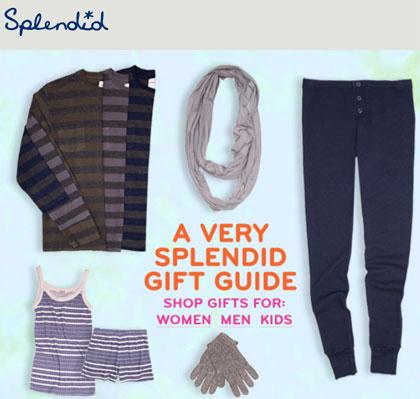 Splendid 2011 Gift Guide
