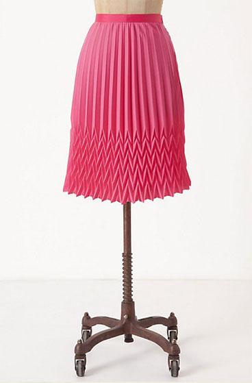 Broken Pleats Skirt