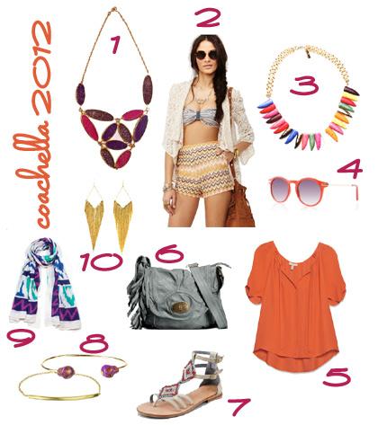 Coachella 2012 Fashion Inspiration