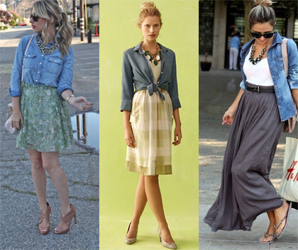 Denim shirt styling tips