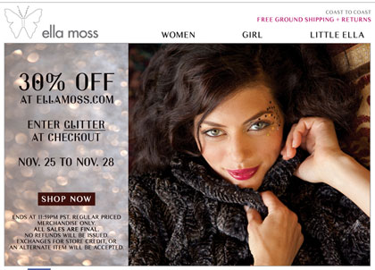 Ella Moss Cyber Monday Deal