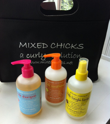 Mixed Chicks Curly Hair Products for Kids