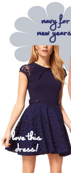ASOS Skater Dress With Lace Skirt And Short Sleeves