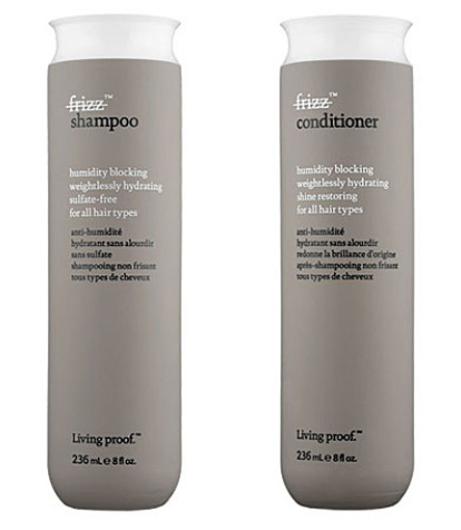 Living Proof No Frizz Shampoo & Conditioner