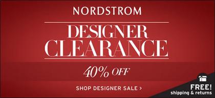 Nordstrom Designer Clerance