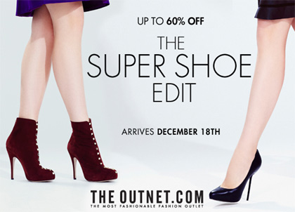 Shop the Super Shoe Edit at up to 60% off at THEOUTNET.COM