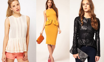Peplum Fashion Trend
