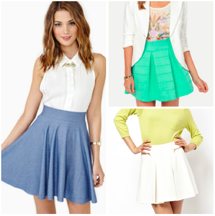 Wear Now and Later: The Skater Skirt