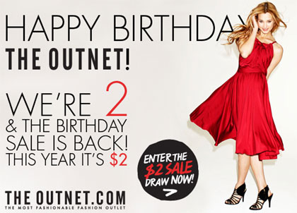 The Outnet's 2nd Birthday Sale