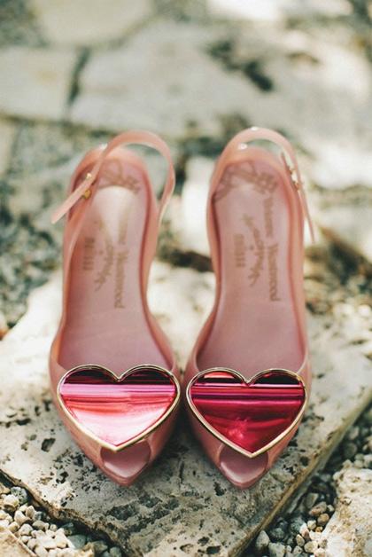 Vivianne Westwood Heart Shoes