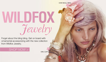 Wildfox Jewelry at The Trend Boutique