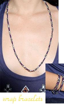 Vanessa Mooney Nuggets Wrap Bracelet