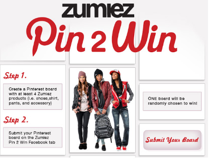 Zumiez Pin 2 Win Contest